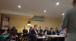 WPGlasgow diverse audience, April 2018